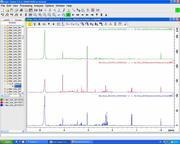 NMR-Urinspektrum - Am PC können die einzelnen Stoffwechselprofile in der Urinprobe durch die Kernmagnetresonanz-Spektroskopie exakt ausgewertet werden. Foto: UMG