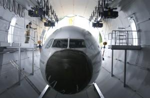 Das Fluglabor des Fraunhofer IBP wird demnächst um einen neuen Prüfstand für das thermische Verhalten von Flugzeugsystemen   die Thermal Test Bench   erweitert. ( © Fraunhofer IBP)