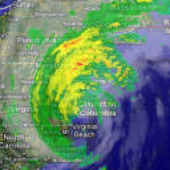 """Hurrikan erreicht New York: """"Irene"""" wütet über dem Big Apple"""