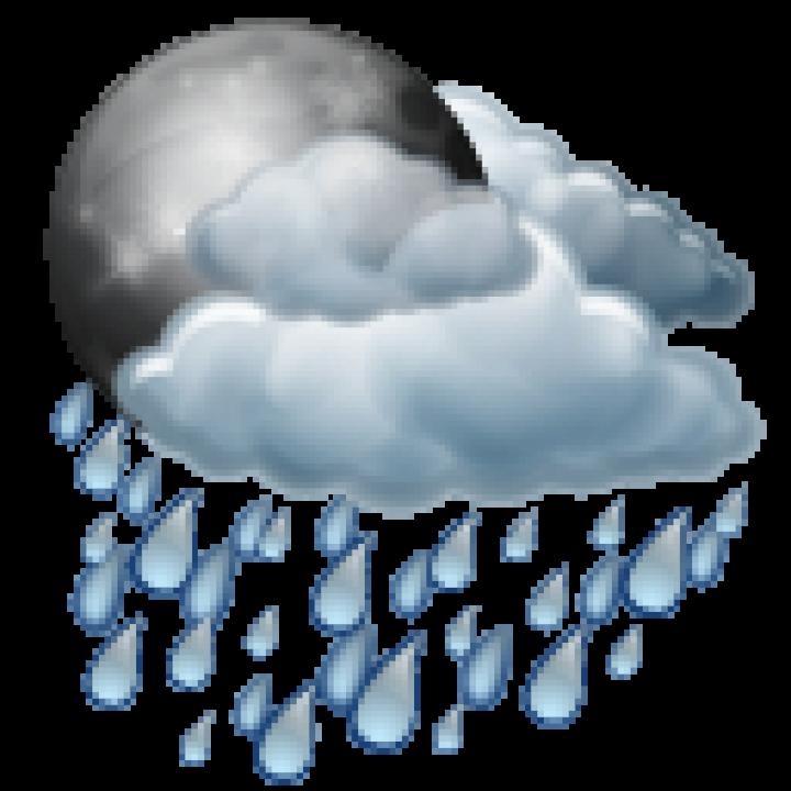 Regen nachts
