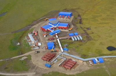Die neue Forschungsstation auf der Samoylov-Insel im Lena-Delta. Foto: Mikhail Grigoriev, SBRAS