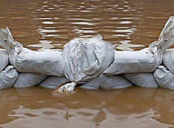 Hochwasser Sandsaecke