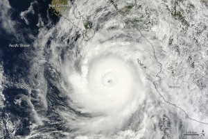 Hurrikan Odile Quelle: NASA